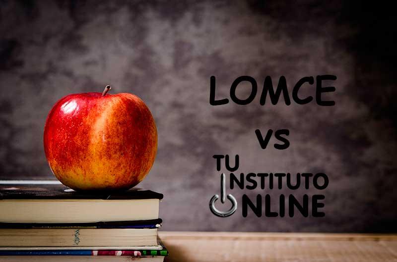 Tu Instituto Online vs LOMCE